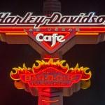 Постер, плакат: Harley Davidson Cafe