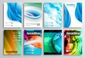 Set of Flyer Design Web Templates