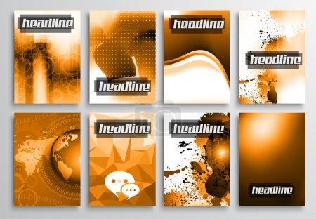 Set of Flyer Design, Web Templates