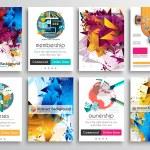 Set of Flyer Design, Web Templates. Brochure Desig...