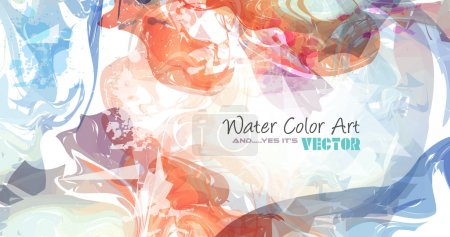 Watercolor Background for poster