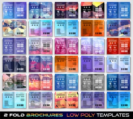 Brochure template design or flyer layout