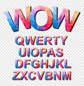 Colorful Funny Simple Font
