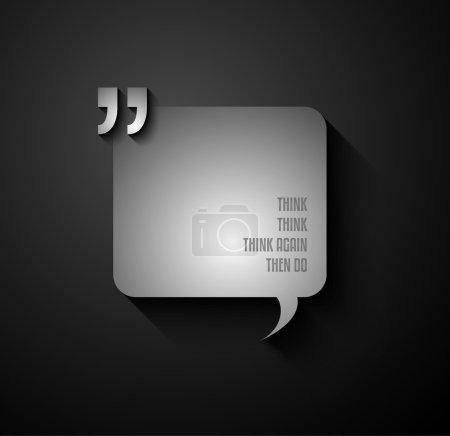 Quotation Mark Frame