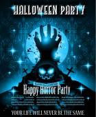 Halloween Night Event Flyer template