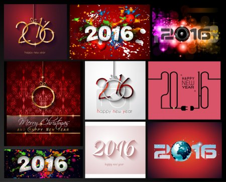 New Year Background for Christmas Flyers