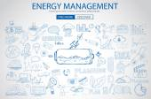 Energy management with Doodle design style