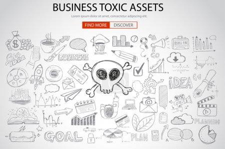 Business Toxic Assets concept