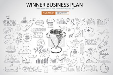 Winning Business Plan Concept