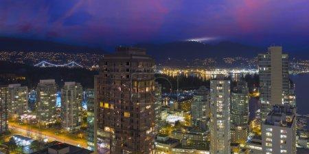 Vancouver British Columbia Canada Cityscape with S...