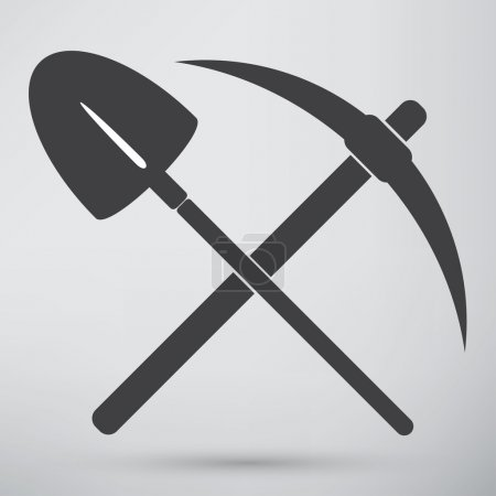 pick and shovel symbol