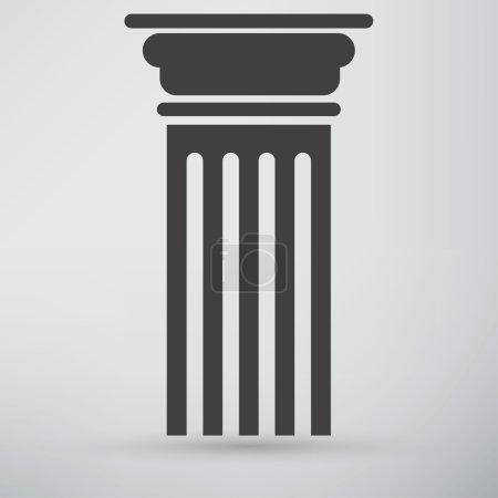 Antique Column, pillar Icon