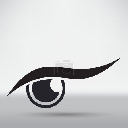 Eye Protection concept icon