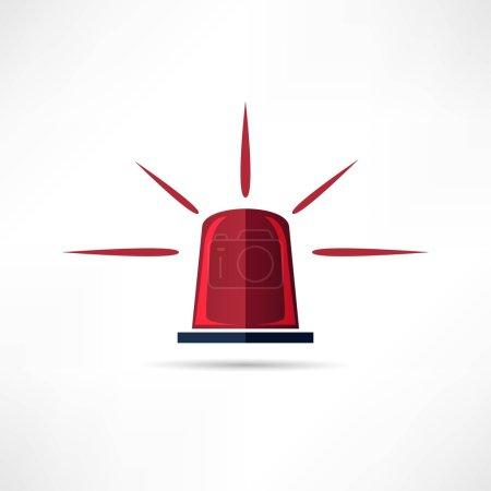 Light siren icon