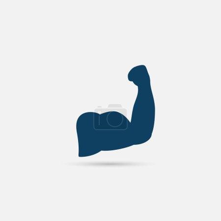 Biceps, bodybuilding  icon