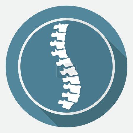 Icon of Spine diagnostics, medicine