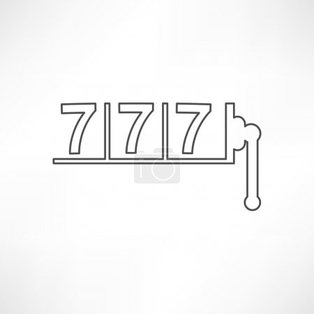 777, slots, game icon