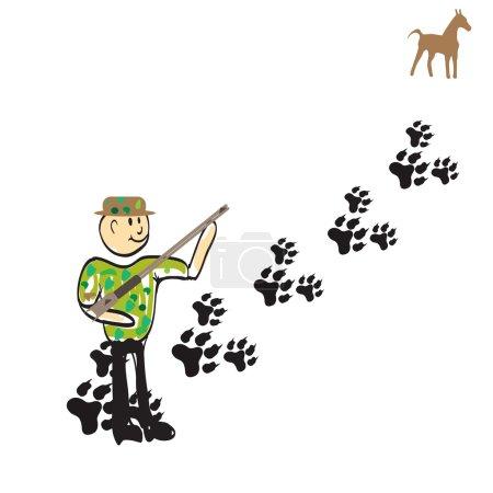man hunter Cartoon