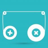 Zvuková kazeta ikona