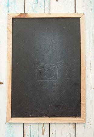 Photo pour Tableau noir vide avec espace pour le texte - image libre de droit
