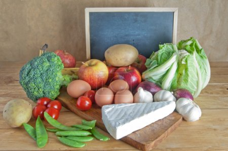 Fresh groceries fruits and vegetables