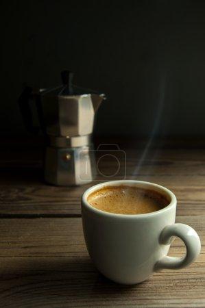 Italian espresso coffee