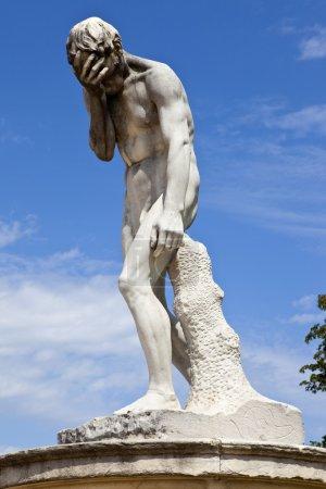 Sculpture in Jardin des Tuileries