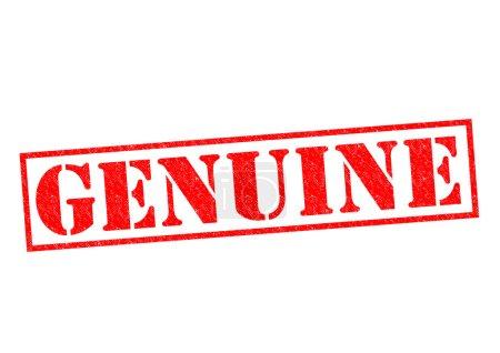 Photo pour Véritable tampon en caoutchouc rouge sur fond blanc . - image libre de droit