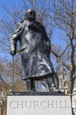 Sir Winston Churchill Statue in London