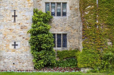 Photo for A detail of the historic Hever Castle in Kent, on 28th June 2015. - Royalty Free Image