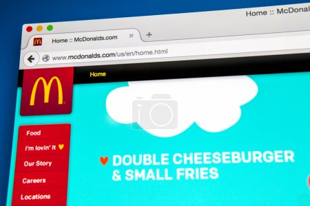 McDonalds Official Website