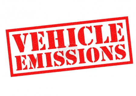 VEHICLE EMISSIONS Rubber Stamp