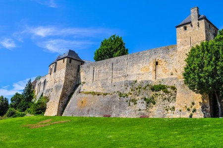 HDR Chateau Ducal castle in Caen