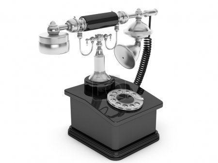 Retro Phone. Vintage Telephone