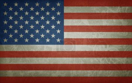 US flag illustration