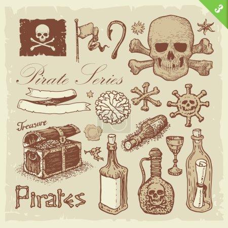 Ensemble de vecteurs pirates