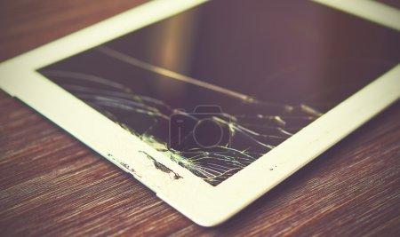 Tablet PC is broken