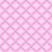 Seamless pink velvet quilted background