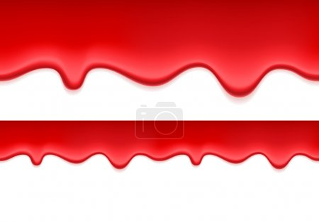 Red jelly or blood dripping background