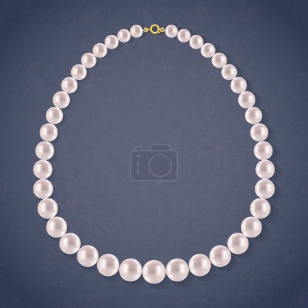 Round Pearls Necklace