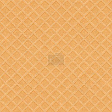 Illustration pour Texture gaufre - fond vectoriel - image libre de droit