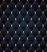 Quilted seamless pattern Black color