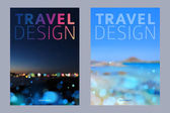 Cover design vector illustration - travel theme