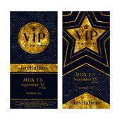 VIP pozvánky šablony návrhů premium