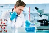 Vědec, který pracuje