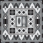 African pattern 73