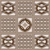 Art vintage abstract seamless pattern or texture (background) Ethnic geometric print Fabric cloth design wallpaper wrapping Vector illustration