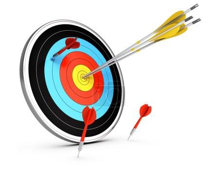Outperform Competitors Concept