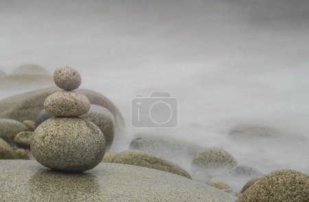 Pebble Stack, Zen Background