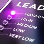 Lead generation concept, Illustration of internet ...